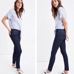 Madewell Skinny Jeans in Quincy Wash